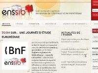 Vignette miniature du site web de l'enssib